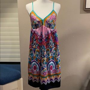 Mixit sleeveless dress    Lined.   Size 10